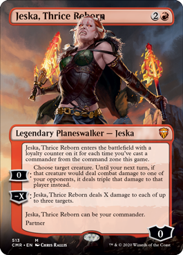 Jeska, Thrice Reborn - Foil - Borderless
