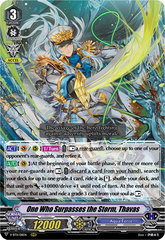 One Who Surpasses the Storm, Thavas - V-BT11/011EN - RRR