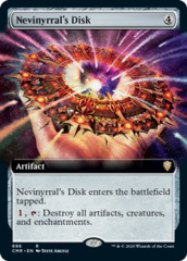 Nevinyrral's Disk - Extended Art