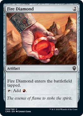 Fire Diamond - Foil