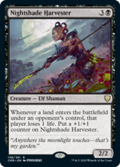 Nightshade Harvester - Foil