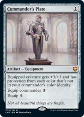 Commander's Plate - Foil