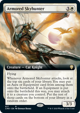 Armored Skyhunter - Foil - Extended Art