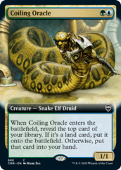Coiling Oracle - Foil - Extended Art