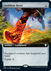 Swiftfoot Boots - Foil - Extended Art
