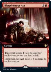Blasphemous Act - Foil - Extended Art