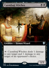 Cuombajj Witches - Foil - Extended Art