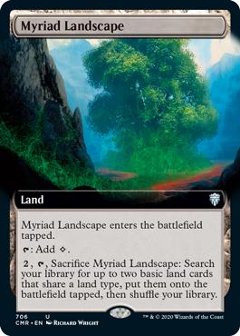 Myriad Landscape - Extended Art