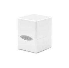 Ultra Pro Deck Box: Arctic White Satin Cube