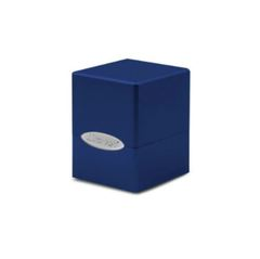 Ultra Pro Deck Box: Pacific Blue Satin Cube