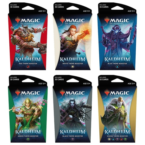 Kaldheim Theme Boosters (Set of 6)