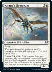 Kangee's Lieutenant - Foil