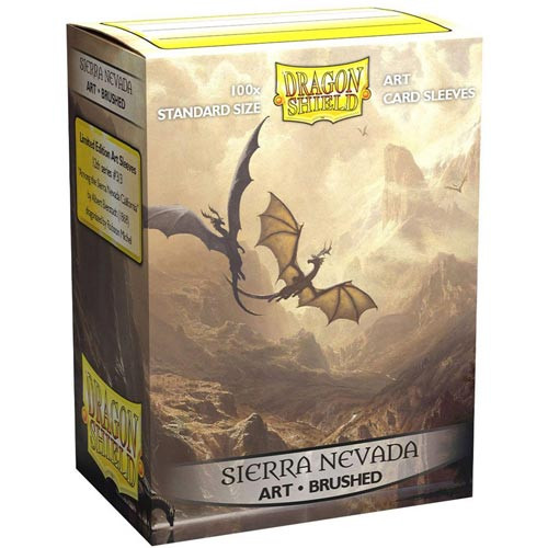 Dragon Shield Sleeves: Brushed - Among the Sierra Nevada