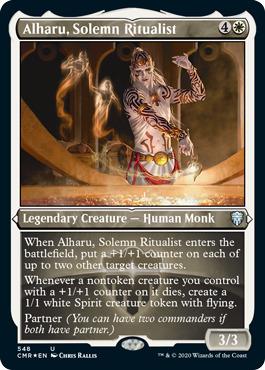 Alharu, Solemn Ritualist - Foil Etched
