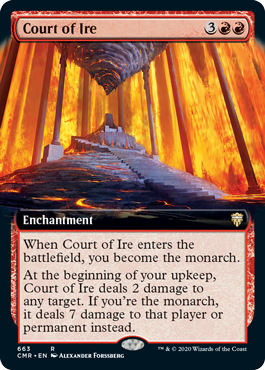 Court of Ire - Foil - Extended Art