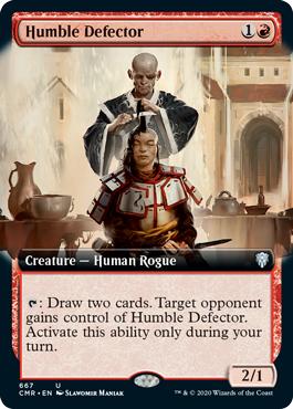 Humble Defector - Foil - Extended Art