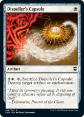 Dispeller's Capsule - Foil