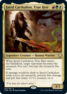 Jared Carthalion, True Heir - Foil