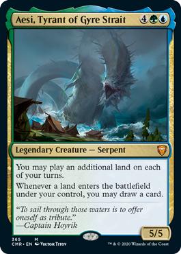 Aesi, Tyrant of Gyre Strait - Theme Deck Exclusive - Foil