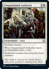 Unquestioned Authority - Theme Deck Exclusive