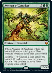 Avenger of Zendikar - Theme Deck Exclusive