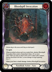 Bloodspill Invocation (Blue) - Unlimited Edition