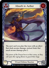 Absorb in Aether (Blue) - Rainbow Foil - Unlimited Edition