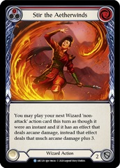 Stir the Aetherwinds (Red) - Rainbow Foil - Unlimited Edition