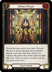 Eirina's Prayer (Red) - Rainbow Foil - Unlimited Edition