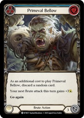 Primeval Bellow (Blue) - Unlimited Edition