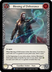 Blessing of Deliverance (Blue) - Rainbow Foil - Unlimited Edition