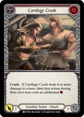 Cartilage Crush (Red) - Rainbow Foil - Unlimited Edition