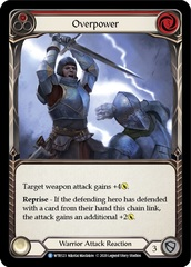 Overpower (Red) - Rainbow Foil - Unlimited Edition