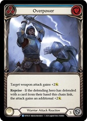 Overpower (Blue) - Unlimited Edition