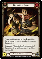 Demolition Crew (Red) - Rainbow Foil - Unlimited Edition