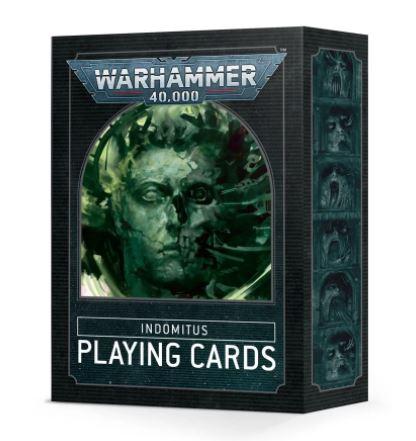 Warhammer 40,000 Indomitus Playing Cards