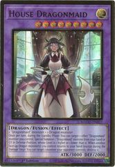 House Dragonmaid - MAGO-EN027 - Premium Gold Rare - 1st Edition