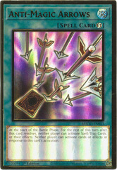 Anti-Magic Arrows - MAGO-EN043 - Premium Gold Rare - 1st Edition