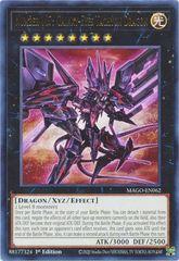 Number 107: Galaxy-Eyes Tachyon Dragon - MAGO-EN062 - Rare - 1st Edition