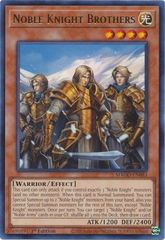 Noble Knight Brothers - MAGO-EN083 - Gold Rare - 1st Edition