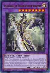 Buster Blader, the Dragon Destroyer Swordsman - MAGO-EN101 - Gold Rare - 1st Edition