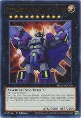 Superdimensional Robot Galaxy Destroyer - MAGO-EN130 - Gold Rare - 1st Edition