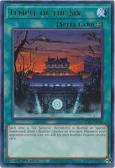 Temple of the Six - MAGO-EN146 - Gold Rare - 1st Edition