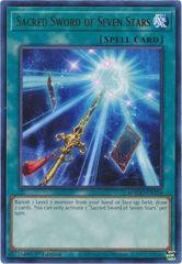 Sacred Sword of Seven Stars - MAGO-EN150 - Gold Rare - 1st Edition