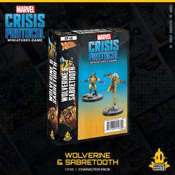 Marvel: Crisis Protocol - Wolverine & Sabertooth (CP 40)