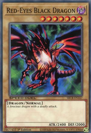 Red-Eyes Black Dragon - SBCB-EN167 - Secret Rare - 1st Edition