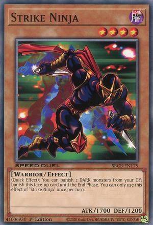 Strike Ninja - SBCB-EN175 - Common - 1st Edition