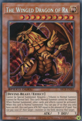 The Winged Dragon of Ra - SBCB-EN203 - Secret Rare - 1st Edition