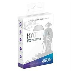 Ultimate Guard - Katana Japanese Size Card Sleeves (60ct) - White