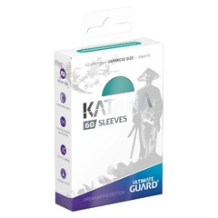 Ultimate Guard - Katana Japanese Size Card Sleeves (60ct) - Turquoise